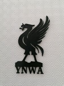 Personalised Liverpool Fc Sign wall Hanging, bedroom, YNWA liverbird badge