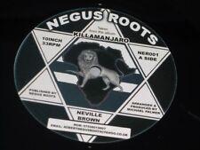 "Neville Brown / Earl 16:   Killamanjaro / Beautiful Place  Negus Roots  10"""