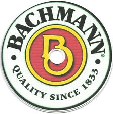 BACHMANN  PARTS LISTS with EXPLODED VIEWS and ASSEMBLY INSTRUCTIONS on CD