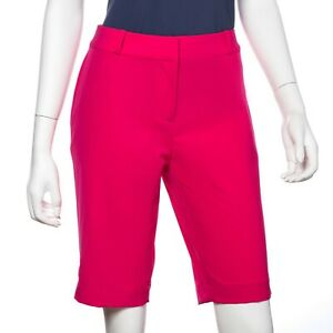 NWT Fairway & Greene Ladies Megan Golf Short Pink Punch size 4 6 8 14 NEW I12181