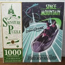Disney Parks Tomorrowland Space Mountain 45th Anniversary 1000 Piece Puzzle New
