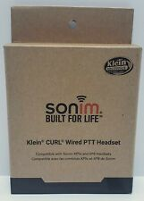 Klein Curl Wired Push to Talk Headset for Sonim XP5 & XP8 Devices - CURL-SO3