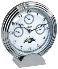 Hermle 22961-002100 Stockton II Calendar Desk/Mantel Clock with Moon Phase