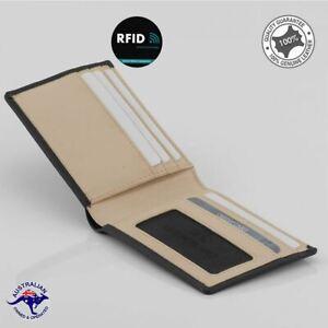 New Genuine Soft Cowhide Leather Small Slim Wallet Card Wallet Multi Sleek