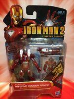 Marvel IRON MAN 2 Concept Series INFERNO MISSION ARMOR #13 NIP