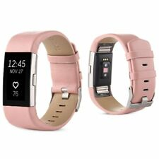 Fitbit Charge 2 Wristband Leather ( PINK ) FREE SHIPPING
