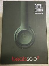 Beats Solo 2 Wired On-Ear Headband Headphones Royal Edition Hunter Green