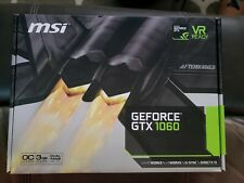 MSI GeForce GTX 1060 V1 OC GDDR5 6GB Gaming Graphics Card