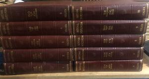 Collier National Encyclopedia 1945, 10 vol set
