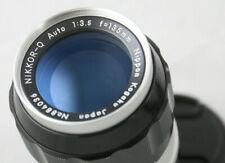 Nikon NIKKOR Q 135mm f/3.5 Non-Ai manual Lens