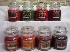 YANKEE CANDLE Medium 14.5 oz Jar Candles YOU CHOOSE Variety of Scents