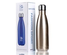 17oz Insulated Water Bottle Double Wall Vacuum Stainless Steel Bottle Leak Proof