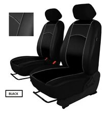 Eco-Leather Tailored Front Seat Covers Toyota Land Cruiser 200 1+1 2008-2012