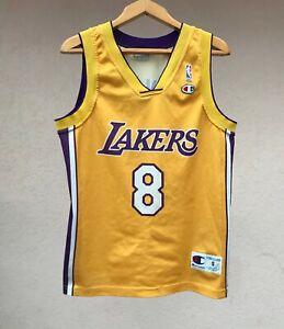 LOS ANGELES LAKERS BASKETBALL SHIRT JERSEY CAMISETA BRYANT CHAMPION NBA USA