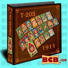 1911 T-205 Baseball Card Binder