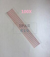 100X Water Damage Seal Warranty Indicator Sensors Sticker For Apple iPhone X