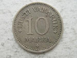 Estonia 10 Marka 1925  XF/AU Condition !!!