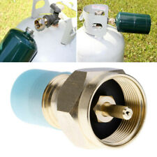Propane Refill Adapter LP Gas Cylinder Tank Coupler Heater Camping Hunt Tools