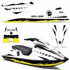 Decal Graphic Kit Sea-Doo XP Jet Ski Wrap Jetski Decal Seadoo Deco 94-96 WRECKED