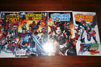 New Suicide Squad #1,2,3,4 1st print set New 52 Lot