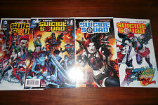 New Suicide Squad #1,2,3,4 1st print set New 52 Lot