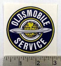 "Vintage Oldsmobile Service sticker decal 3"" dia."