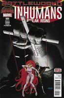 Inhumans Comic Issue 5 Atlas Rising Modern Age First Print 2015 Soule John Timms