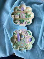 1990 Polly Pocket Vintage Midge's Flower Shop Compact Bluebird Toys