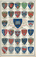 PC67425 Oxford University. Arms of the Colleges of Oxford