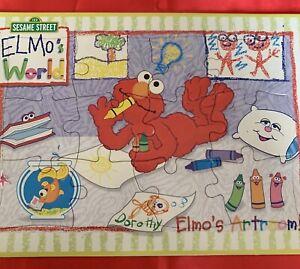 Sesame Street Elmos World Jigsaw Puzzle 2002