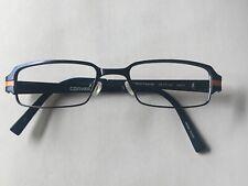 Converse Eyeglass Frames I DONT KNOW 49-17-135mm Navy & Orange Metal Frame