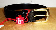 Cintura in pelle pregiata misura cm. 110 per cerimonia , fibbia bicolore HARMON