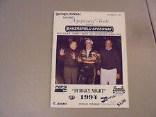 November 24,1994 54Th Usac Turkey Night Grand Prix Midget Race,Bakersfield,Ca.