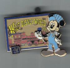 Disney WDW 40 Years Walt Disney World Railroad Conductor Mickey Conductor Pin