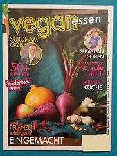 Vegan essen September-November 2015  ungelesen 1A absolut TOP
