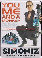 Simoniz Wash and Wax Car Shampoo 2004 Magazine Advert #7754