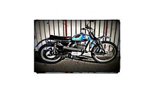 1969 Sachs 125 Bike Motorcycle A4 Photo Poster
