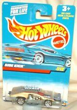 Hot Wheels 2000 #219 Side Kick gold,metal base,excellent card