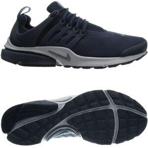 Nike Air Presto Essential blue gray men's low-top sneakers running shoes NEW