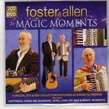 (DA973) Foster & Allen, Magic Moments sampler - 2010 DJ CD