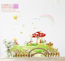 Mushroom Garden Home Decor Removable Wall Sticker/Decal/Decoration
