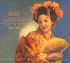 Irma Gonzlez: En Vivo, 1945-1965 (CD, Jan-2011, 2 Discs, Urtext)