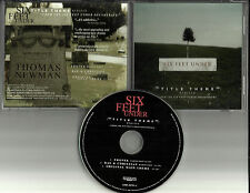 THOMAS NEWMAN Six Feet Under REMIXES w/ PHOTEK & Rae & Christian PROMO CD Single