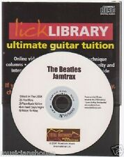 Lick Library The Beatles Guitare jamtrax Jam Trax CD Apprendre i feel fine songs hits