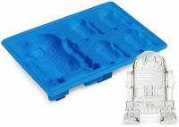 Star Wars R2D2 Ice Cube Tray! New Silicone Mold! USA Seller Fast free ship
