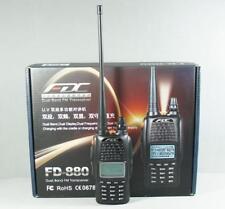 FDC FD-880 Dual Band VHF+UHF DTMF VOX 128CH Professional FM Handheld Ham Radio