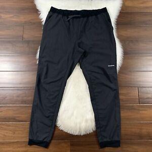 Patagonia Men's Size XL Black Terrebonne Joggers Pants Lightweight