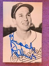 Brooks Robinson Autograghed Postcard - Baltimore Orioles