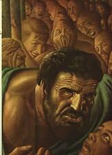 "Guy Rowe. ""Samson"". Vintage 1949 Religious Biblical Lithograph Print. 9 X 12"