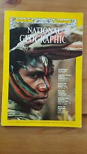 National Geographic magazine January 1972 Everglades, Chelsea, Nambas, Belize